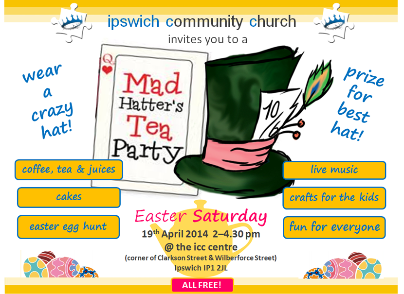 Mad Hatter's Tea Party – ipswich community church